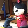 今川さんが静岡市長を訪問、市公認の非公式キャラに!?