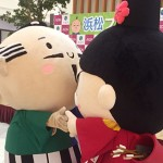 イオンの「浜松フェア」で家康くんと初共演!