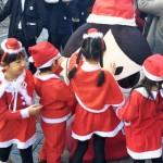 今川さん、サンタパレードに参加!