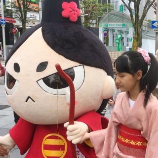 今年も静岡まつりに今川さんが参加