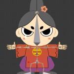 「今川さん」3DCG化:骨組みだボーン