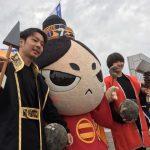 昨日は、今川さん、IAIスタジアムへ。