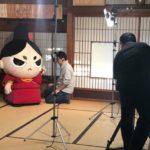 本日の今川さん、撮影に参加。